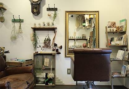 荻窪美容室・美容院・ヘアサロン、ジユームアトリエの空間-2-