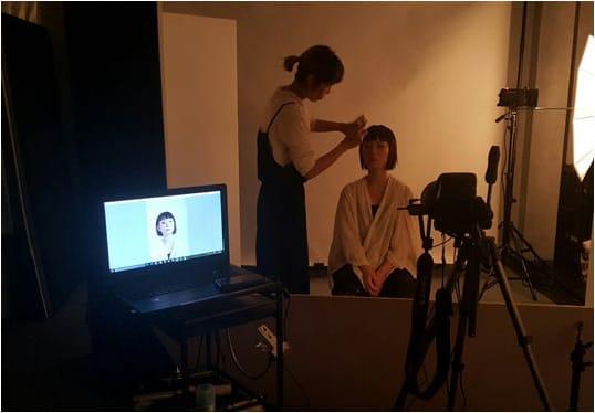 荻窪美容室・美容院ジユームの撮影スタジオ-5-